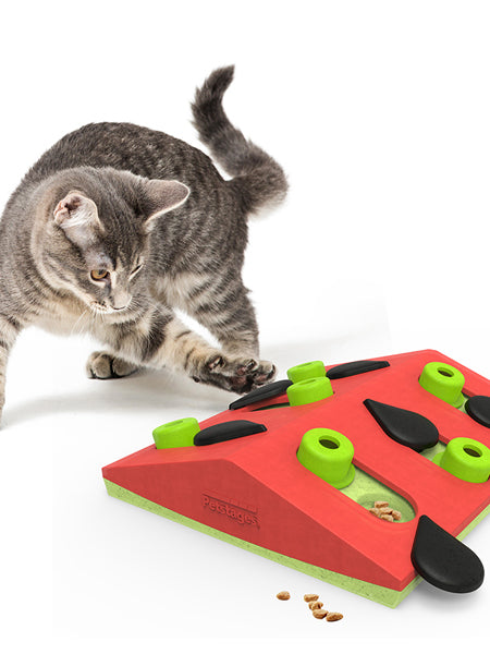 Outward-hound-jouet-interactif-puzzle-pour-chat-Melon-Madness