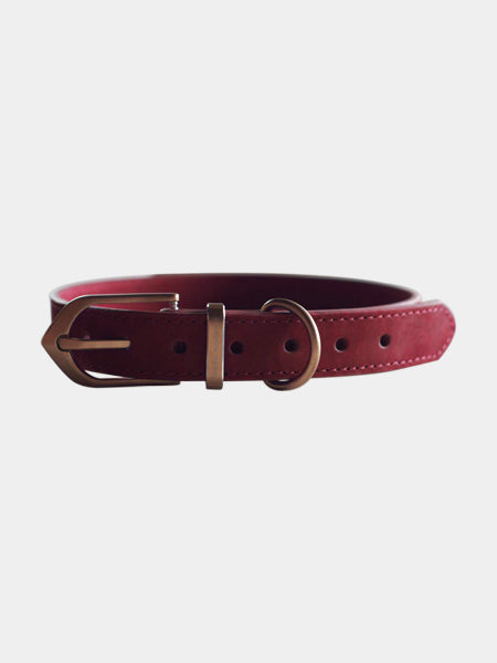 Urban-monster-collier-classic-chien-rosewood-red