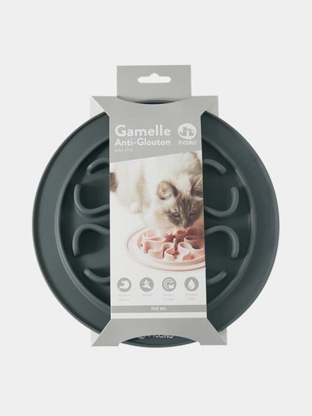 inooko - gamelle antiglouton pour chat