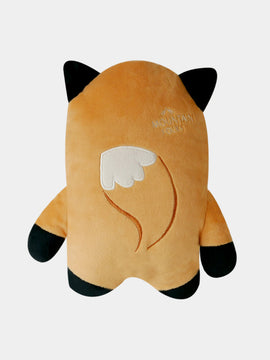 inooko - peluche renard eco friendly resistante originale pour chien
