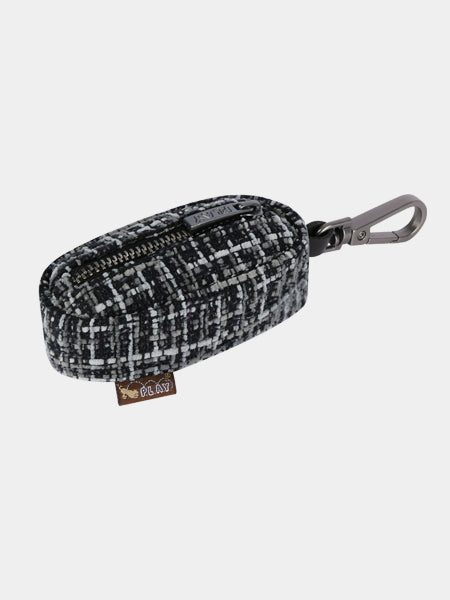 pet-play-distributeur-sac-a-crottes-tweed-noir-gris