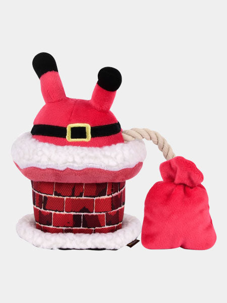 pet-play-peluche-noel-chien-pere-noel