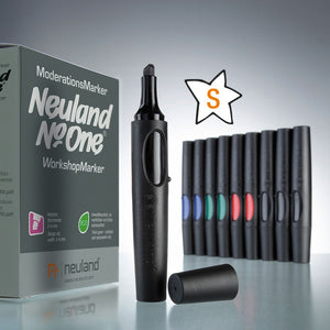 Neuland No.One®, wedge nib 2-6 mm, Color Set S - Drawn In