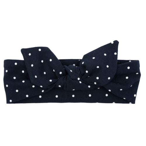 Babyhaarband von UL&KA - Navy with Dots