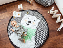Laden Sie das Bild in den Galerie-Viewer, Play & Go Spielteppich SOFT Polar bear