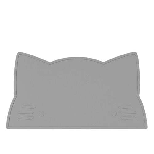 Silikon Tischset grey cat