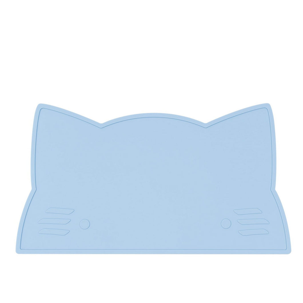 Silikon Tischset powder blue cat