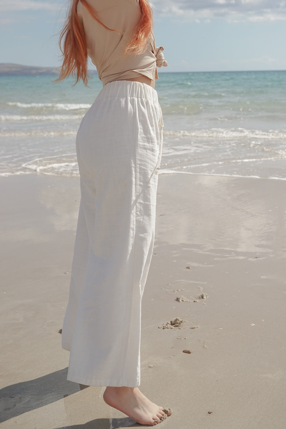 BEACH PANTS | WHITE