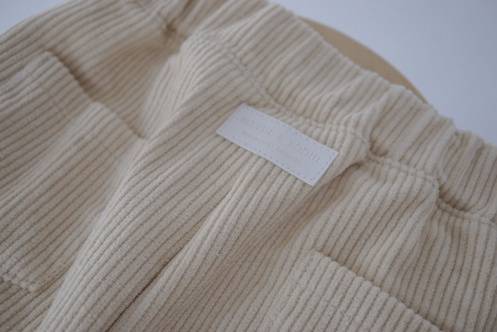HUCKLEBERRY TROUSER | CREAM