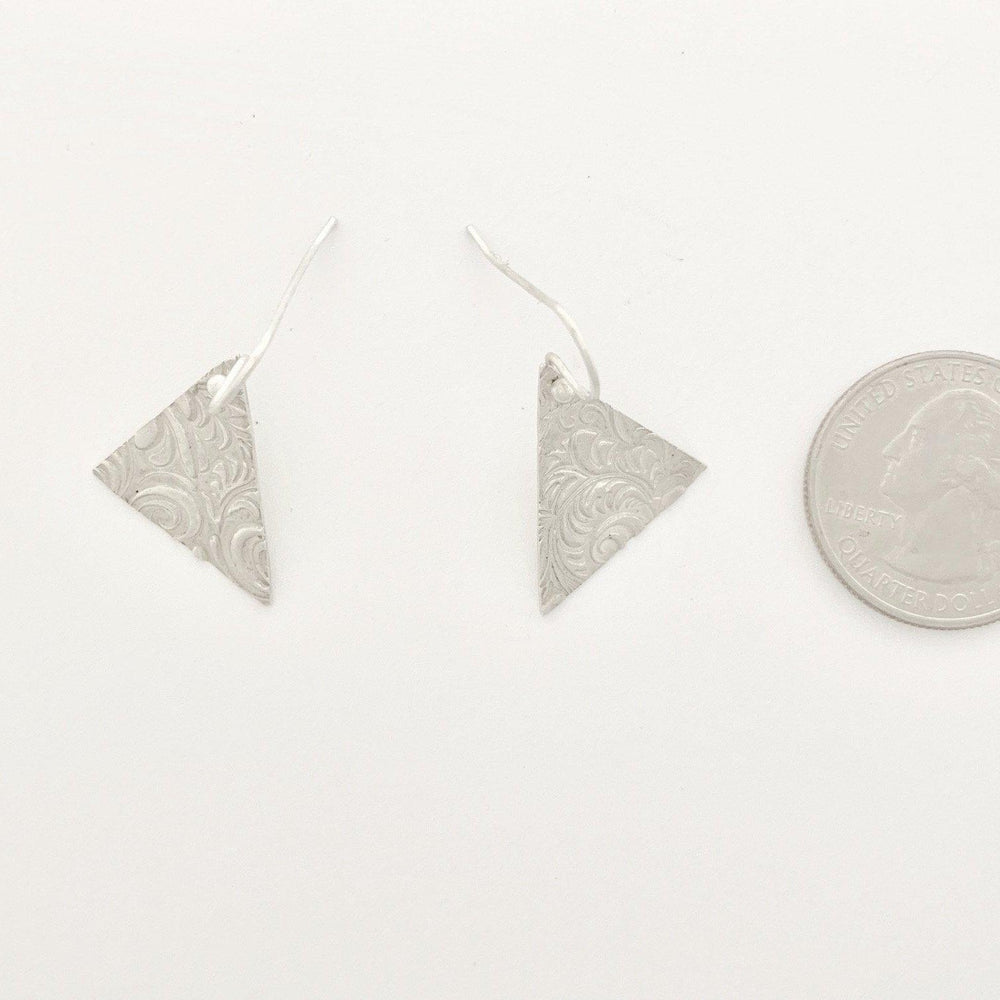 Triangle Earrings-Earrings-Mechele Anna Jewelry