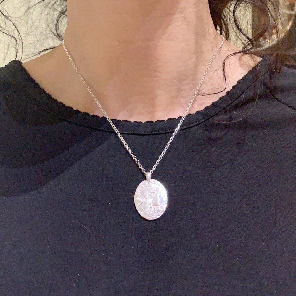 Floating Dandelion Necklace