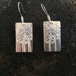 Dandelion Bar Earrings