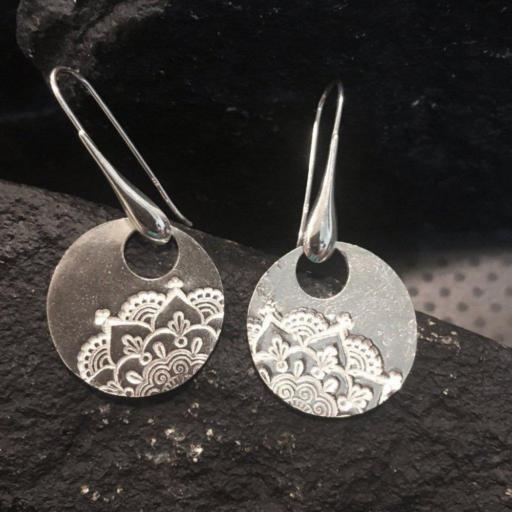 Mandala Earrings-Earrings-Mechele Anna Jewelry