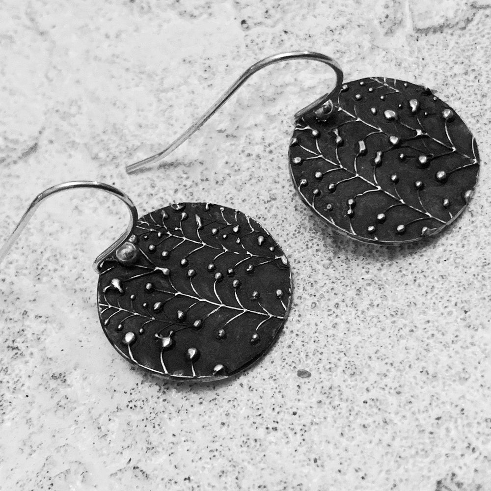 Oxidized Lily of the Valley Earrings-Earrings-Mechele Anna Jewelry