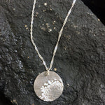 Silver Dandelion Necklace-Necklaces-Mechele Anna Jewelry