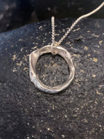 Silver Eternity Necklace