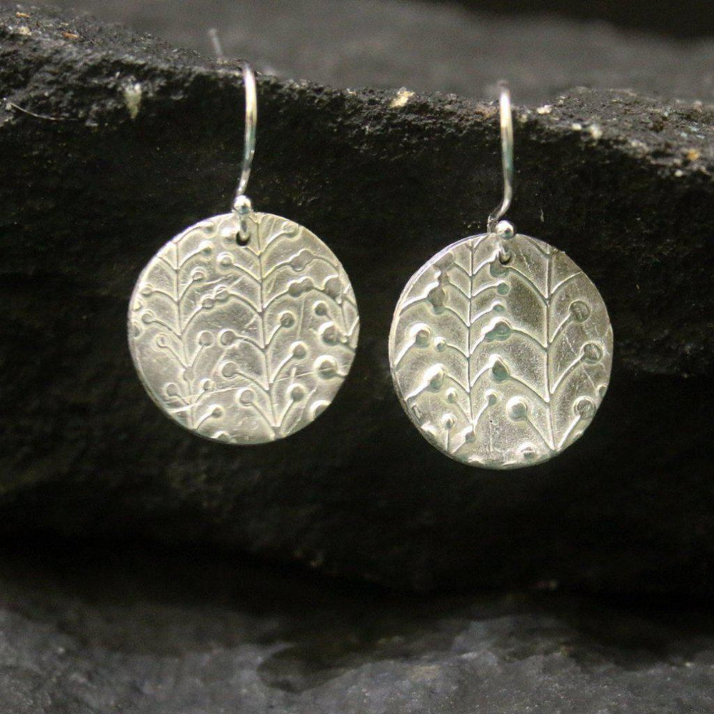 Lily of the Valley Earrings-Earrings-Mechele Anna Jewelry