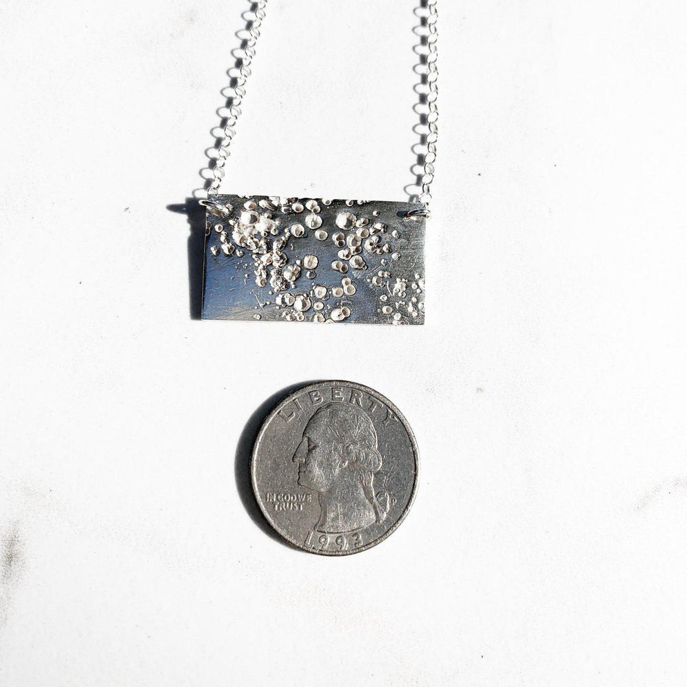Meteor Bar Necklace-Necklaces-Mechele Anna Jewelry
