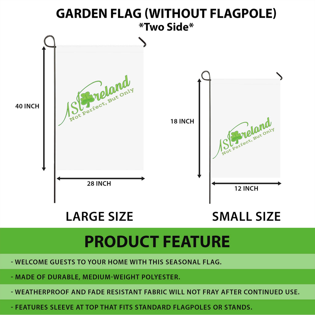 GARDEN FLAG | Product details and Sizing | 1stireland.com