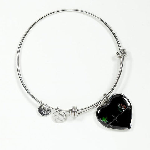 Image of Ireland Heartbeat Silver Heart Jewelry C1 1ST