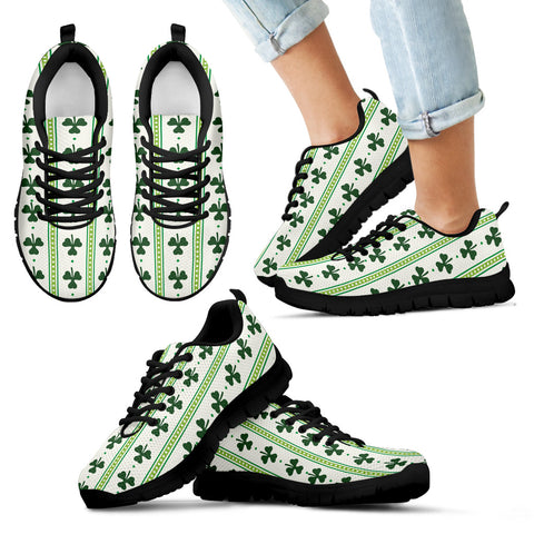 Ireland Pattern Shamrock Sneakers TH5