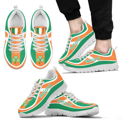 Ireland Flag Color Sneakers