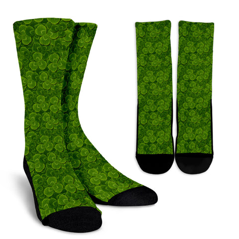 Shamrock Sock Pattern 09 TH2
