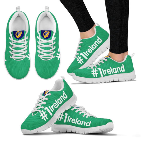 Image of Ireland shoes - Hashtag Ireland men's/women's sneakers NN9 1ST