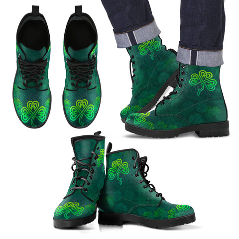 Celtic Shamrock Boots Illustration Shamrock TH7