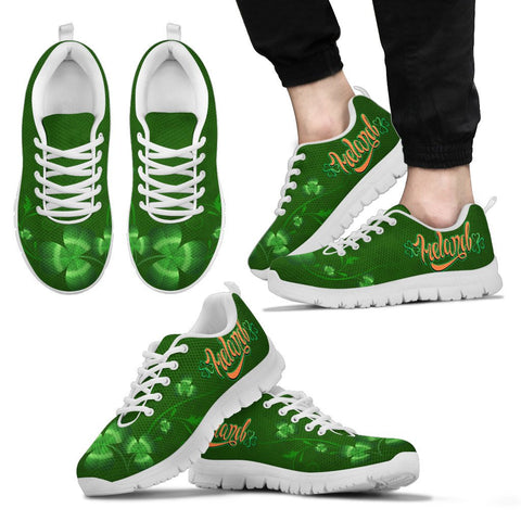 Ireland shoes- Irish shamrock sneakers NN8
