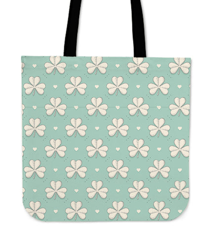 Irish Shamrock Tote Bag Th2