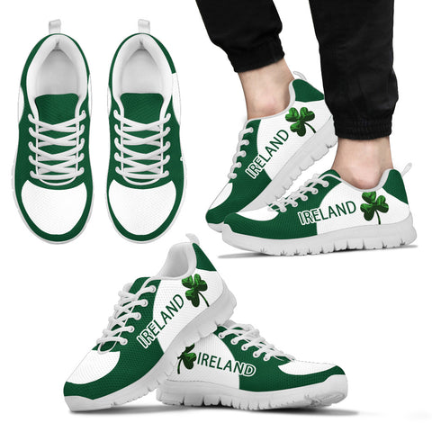 Image of Irish Shamrock Shoes, St. Patrick's Day Sneakers Th9