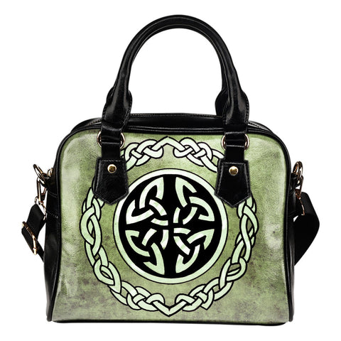 Celtic Shield Shoulder Handbags NN8