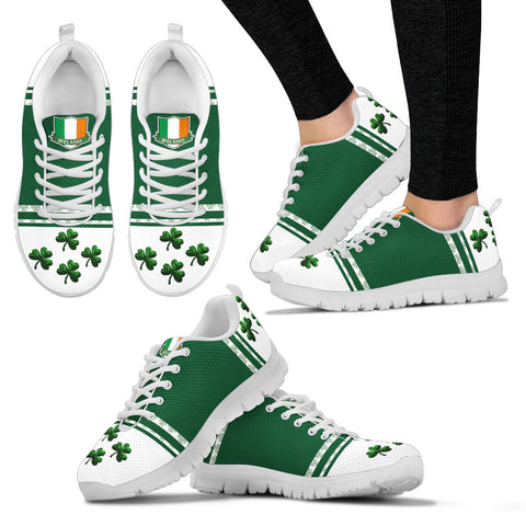 Image of Ireland Sneaker Shamrock Sport White