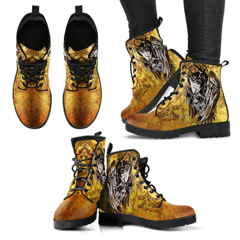 Celtic Owl - Night Watcher™ Boots TH7