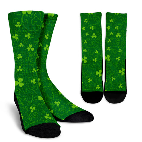 Shamrock Sock Pattern 08 TH2