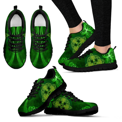 Image of Celtic Shamrock (Men'S / Women'S) Sneaker Ver.2