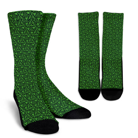 Shamrock Sock Pattern 01 TH2