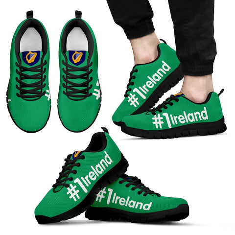 Ireland Shoes - Hashtag Ireland Men's/Women's Sneakers | 1stireland.com
