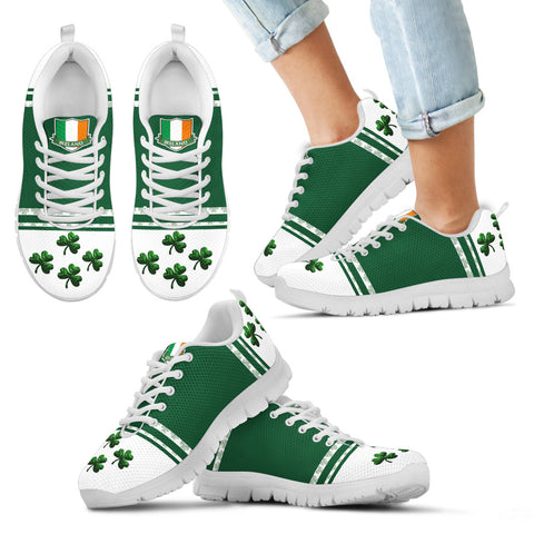 Ireland Flag Shoes, Shamrock St. Patrick's Day Sneakers Th9
