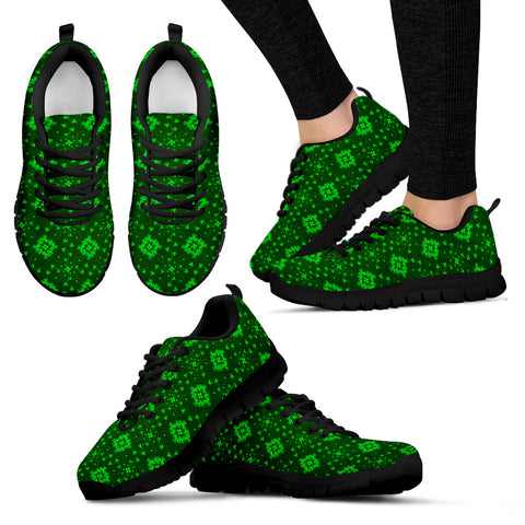 Ireland Lucky Shamrock Sneakers St. Patrick's Day