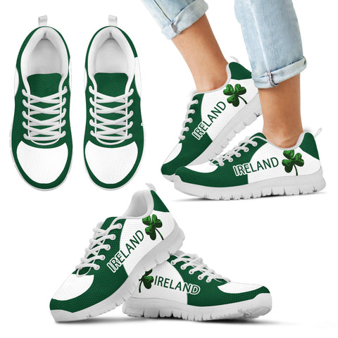 Irish Shamrock Shoes, St. Patrick's Day Sneakers Th9