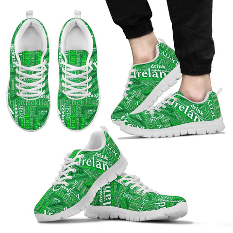 Irish White Men's Sneakers JT6