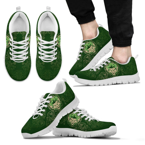 Celtic Shamrock Sneakers | 1stireland.com