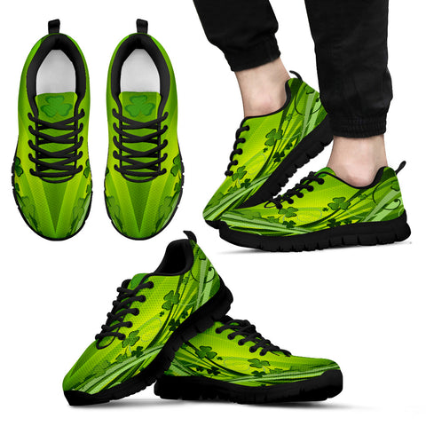 Irish Shamrock Shoes, St. Patrick's Day Sneakers Th7