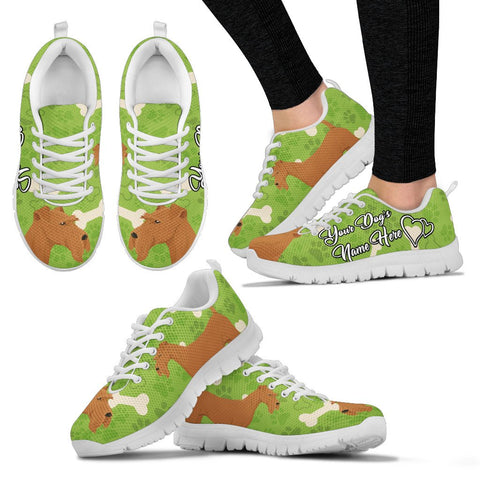 Irish Terrier Dog Customized Sneakers Th9