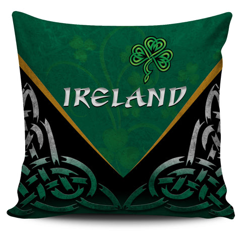 Irish Shamrock Pillow Cover, Trinity Knot Pillow Cover K4