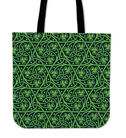 Irish Shamrock St. Patrick's Day Tote Bag TH2