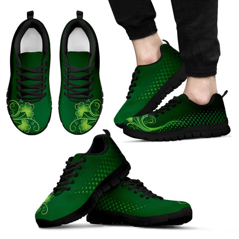 Image of Irish Shamrock Shoes, St. Patrick's Day Sneakers H4