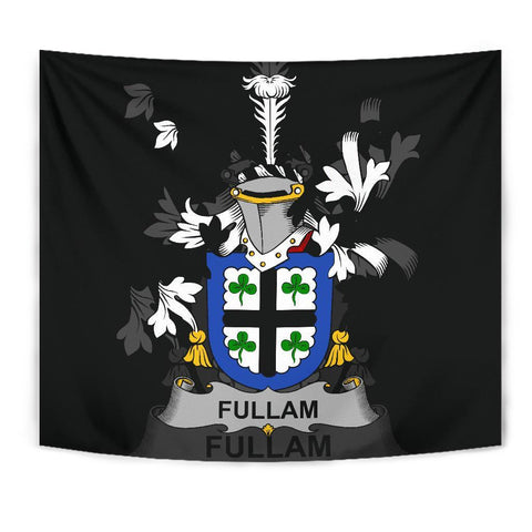 Irish Tapestry, Fullam Family Crest Wall Carpet A7